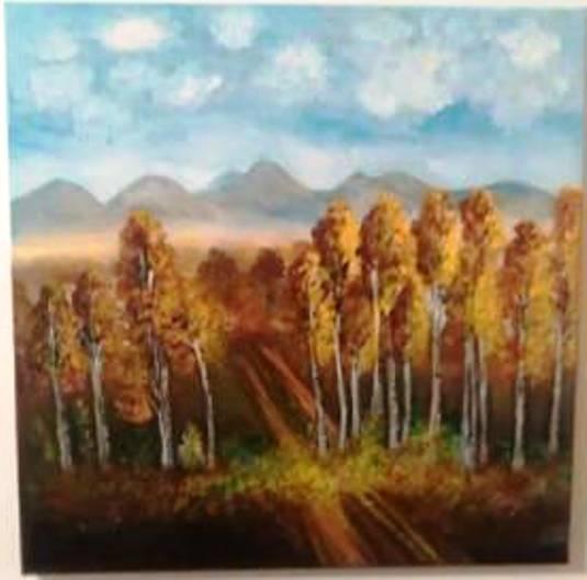 Jesenný-brezový-les