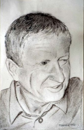 portrait drawing with pencil by Peter Pavluvcik 7.